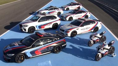 BMW presents the Safety Car fleet