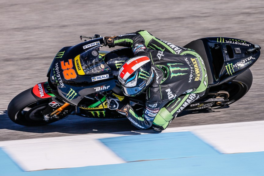 Bradley Smith, Monster Yamaha Tech 3, MotoGP Jerez Q2