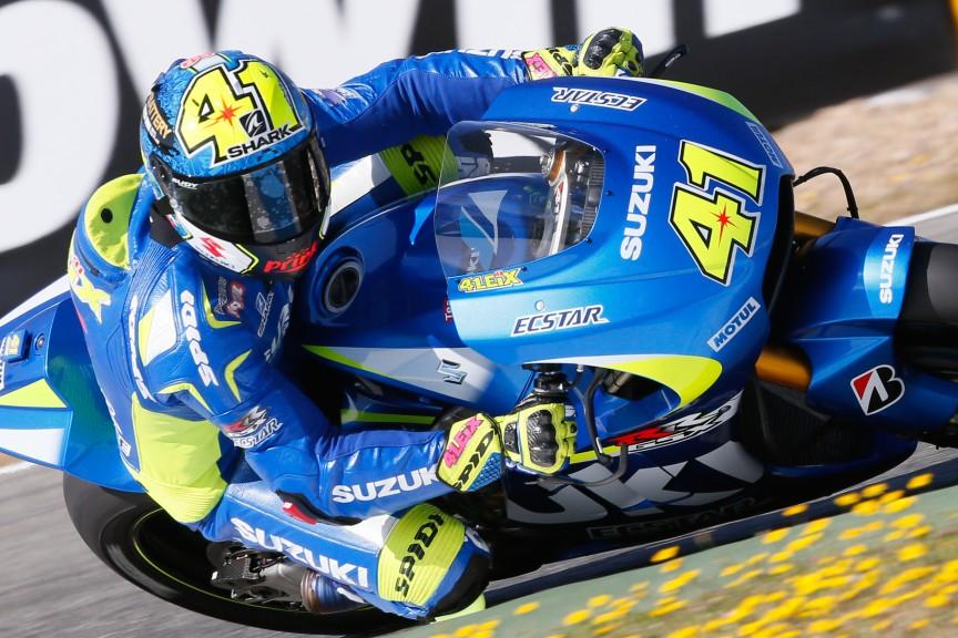 Aleix Espargaro, Team Suzuki Ecstar, Jerez Q2