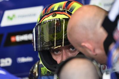 Rossi: 'La moto ha mejorado mucho'
