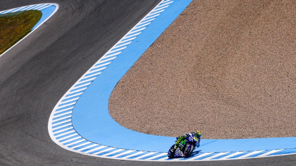 Valentino Rossi, Movistar Yamaha MotoGP, Jerez Q2