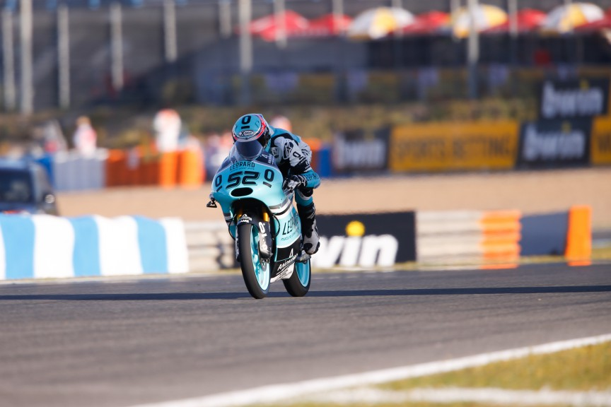 Danny Kent, Leopard Racing, Jerez FP3