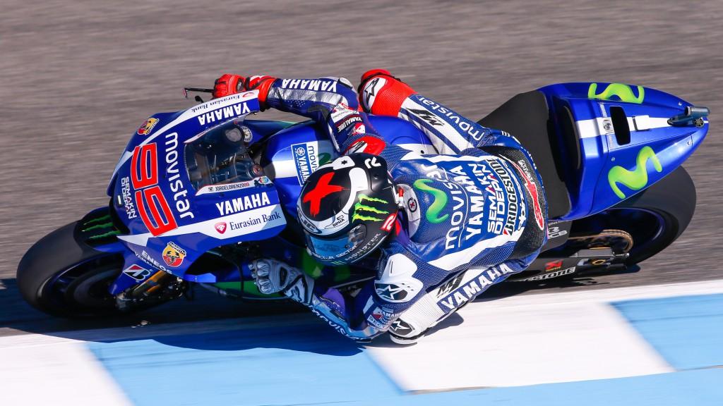 Jorge Lorenzo, Movistar Yamaha MotoGP, Jerez FP3