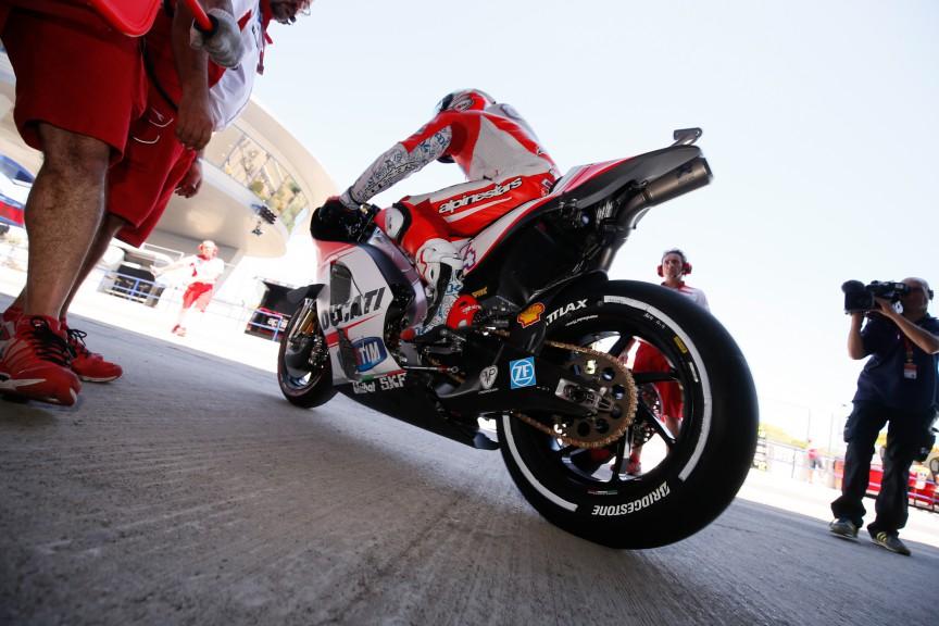 Andrea Dovizioso, Ducati Team, Qatar Q1
