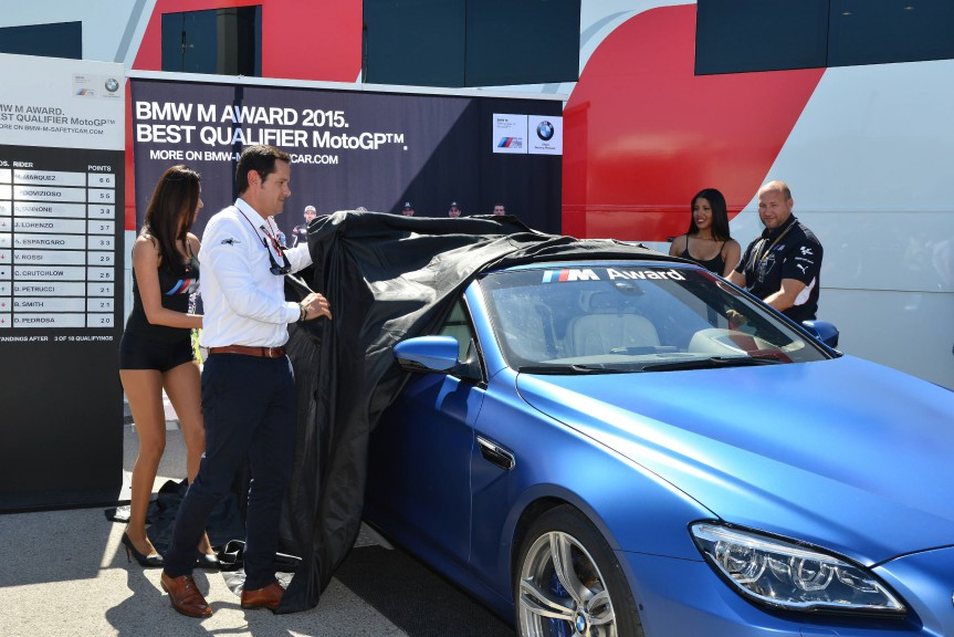 BMW award car presentation