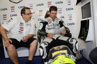 "Crutchlow: ""We chose the wrong front tyre"""