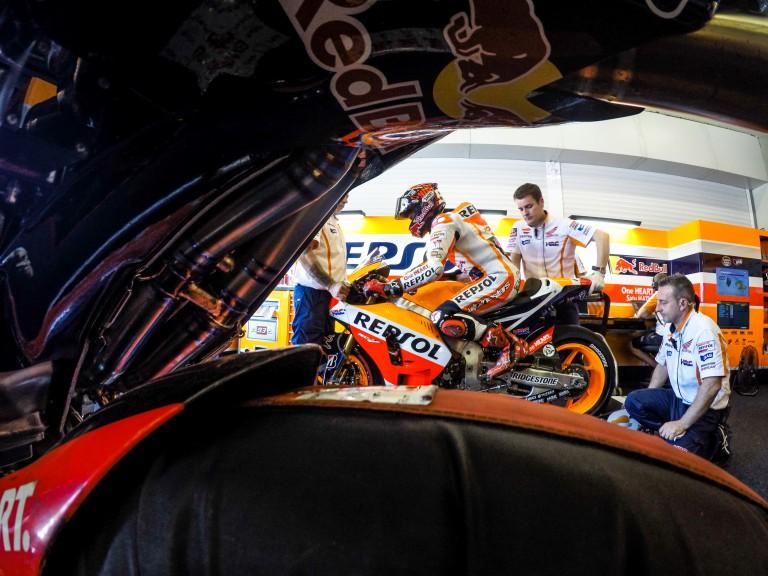 Marc Marquez, Repsol Honda Team, Jerez Q2