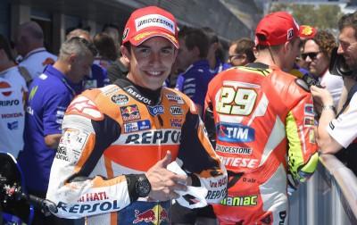 Márquez: 'Sabíamos que sería duro entrar en primera línea'