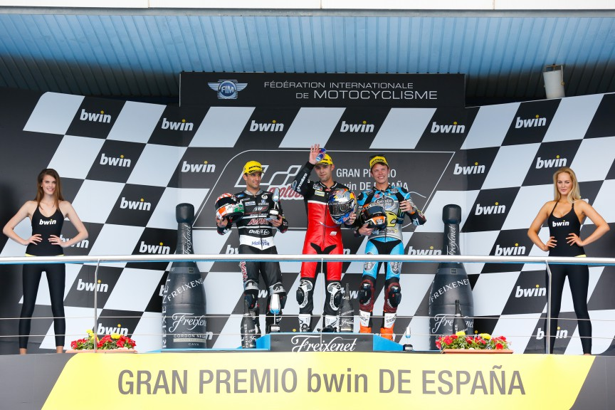 Zarco, Folger, Rabat, AGR Team, Ajo Motorsport, EG 0,0 Marc VDS, Jerez RACE