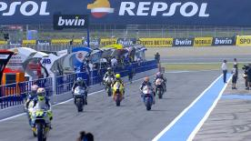 The full Warm Up session for the Moto2™ World Championship at the #SpanishGP.