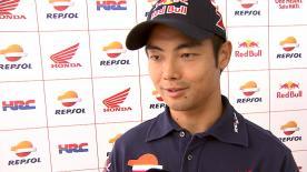 青山博一が転倒リタイヤを喫した決勝レースを振り返る。