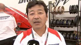 ブリヂストンのモーターサイクルレーシングマネージャー、山田宏がシーズン4戦目の決勝レースを振り返る。
