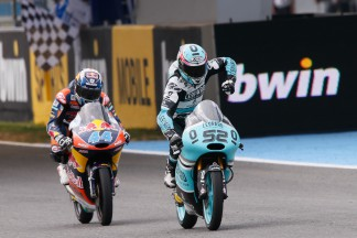 Danny Kent, Miguel Oliveira, Leopard Racing, Red Bull KTM Ajo, Jerez RACE