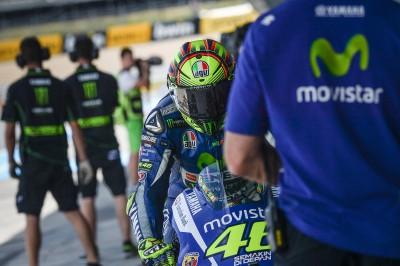 Rossi: 'Ha sido un fin de semana difícil'