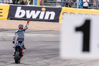 Excepcional vitória de Lorenzo em Jerez
