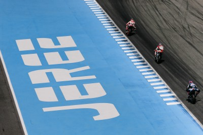 The action continues in Jerez