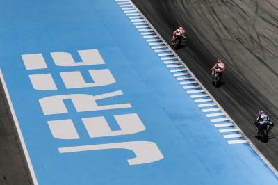Les pilotes restent à Jerez pour un test post-GP
