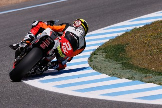 Corsi, Rabat e Lowes na frente do Warm Up de Moto2™