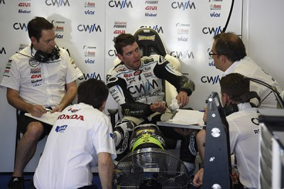 "Crutchlow: ""Fourth position was the best we could do today"""