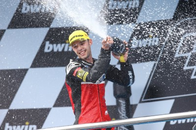"""Folger: """"10 laps before the end I realized I could win"""""""