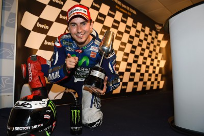 "Lorenzo: ""I was thinking about jumping into the lake…"""
