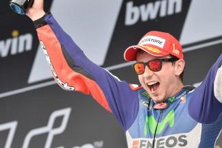 Lorenzo mit 55. GP Sieg