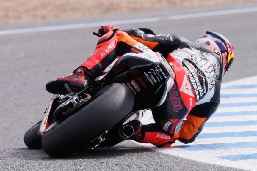 Stefan Bradl, Athinà Forward Racing, Jerez Test