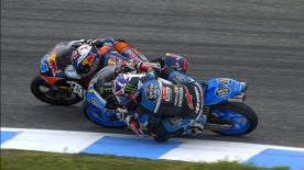 Revoyez les plus belles manoeuvres des catégories Moto2™ et Moto3™ au Grand Prix bwin d'Espagne.  1. Romano Fenati (Moto3) - 39 points 2. Efren Vazquez (Moto3) - 33 points 3. Philipp Oettl (Moto3) - 31 points 4. Hafizh Syahrin (Moto2) - 30 points 5. Franco Morbidelli (Moto2) - 28 points