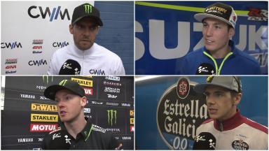 Les réactions des pilotes au Test de Jerez