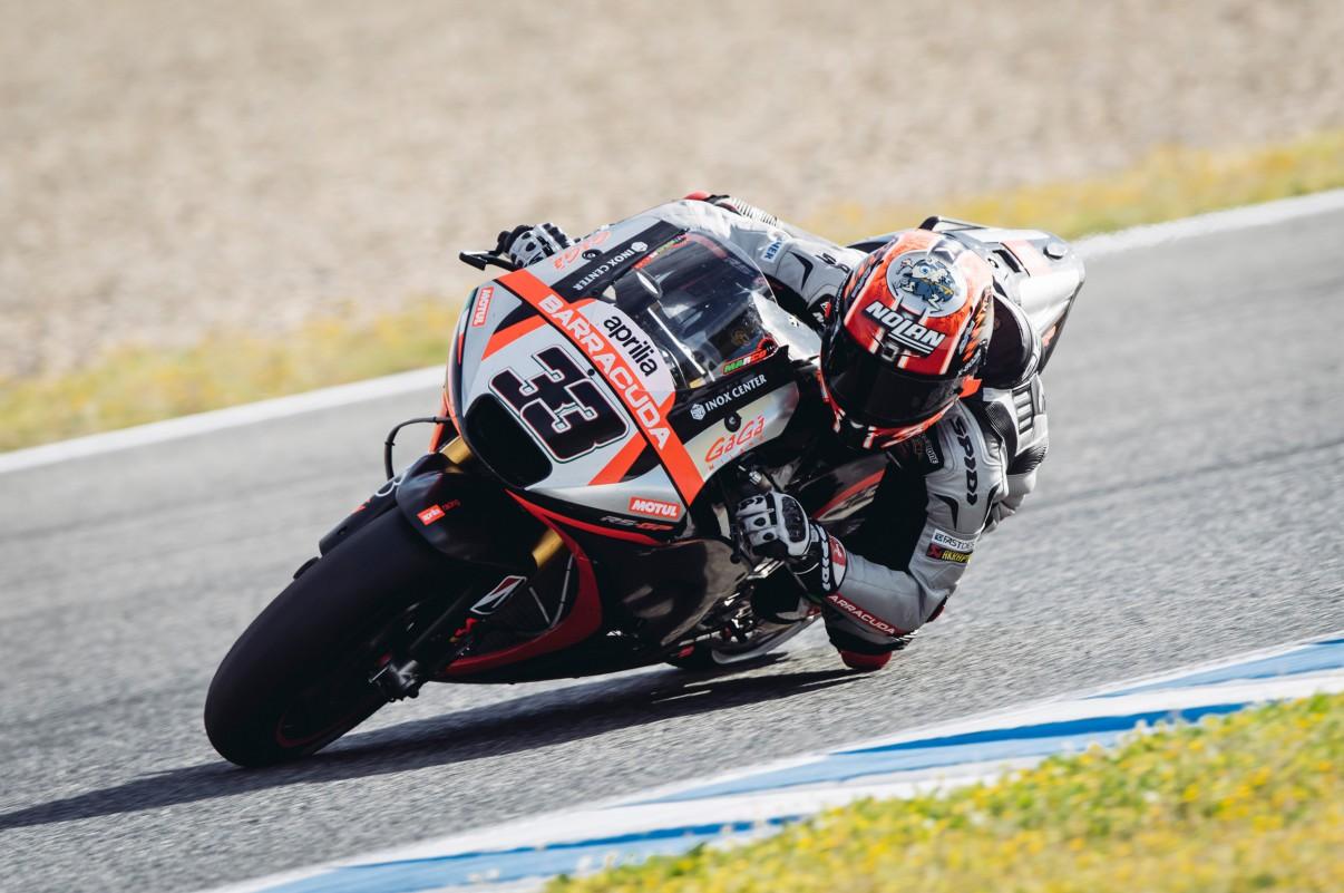 33 marco melandri aprilia racing team gresini motogp jerez test 2015 motogp moto2 moto3 pinterest racing team motogp and cars