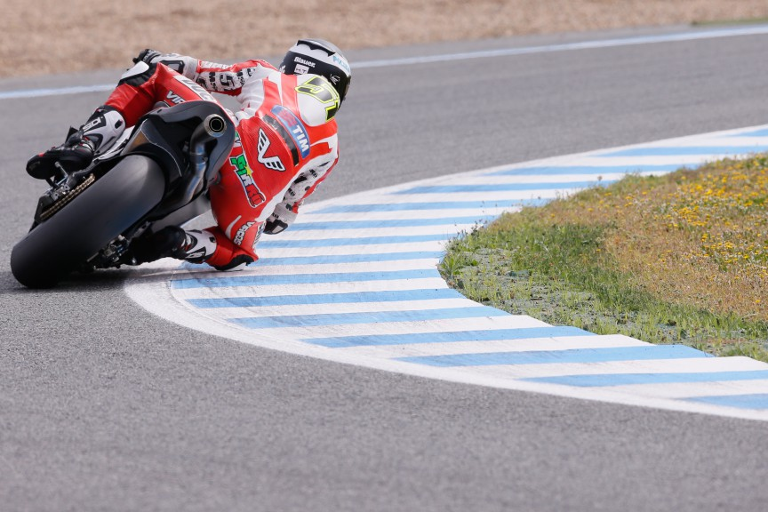 Michele Pirro, Ducati Test Team, Jerez Test