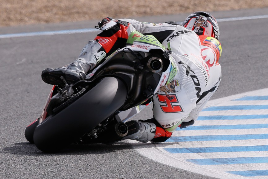 Yonny Hernandez, Pramac Racing, Jerez Test