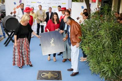 Ezpeleta inaugura su estrella en el Paseo de la Fama