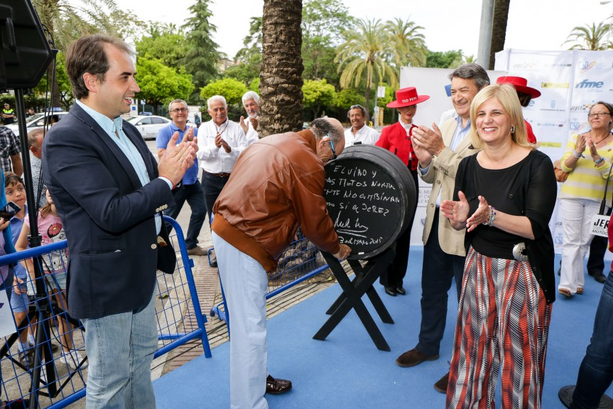 Dorna CEO Carmelo Ezpeleta gets his star on the Jerez Walk of Fame