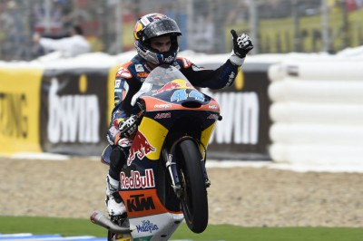 "Oliveira: ""I tried to protect my position on the last lap"""
