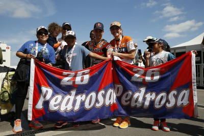 Pedrosa Blog: What would I do without you all!