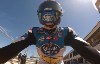 A lap of Motorland Aragon with Álex Márquez