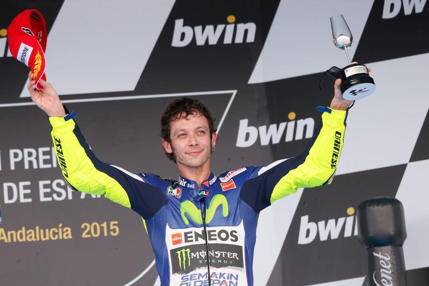 Valentino Rossi, Movistar Yamaha MotoGP, Jerez RACE