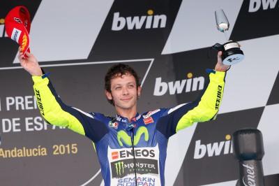 Rossi logra un nuevo récord en el GP bwin de España