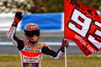 "Marquez: ""My finger is definitely improving and healing well"