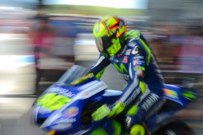O líder do Campeonato do Mundo de MotoGP™ espera um bom fim‑