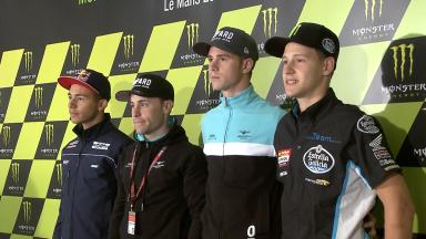 Moto3™ riders prepare to tackle Le Mans