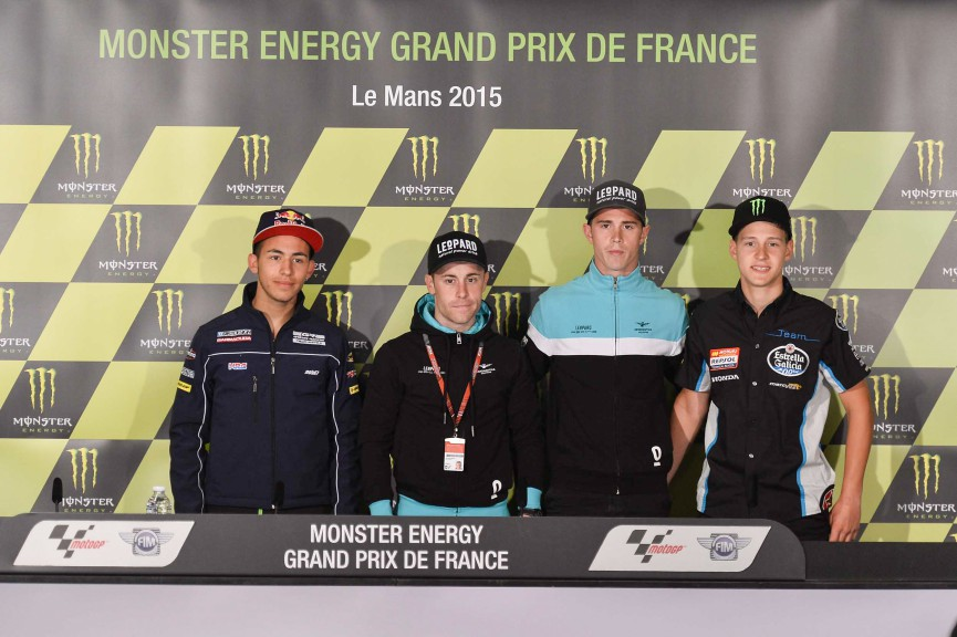 Monster Energy Grand Prix de France Moto3 Press Conference