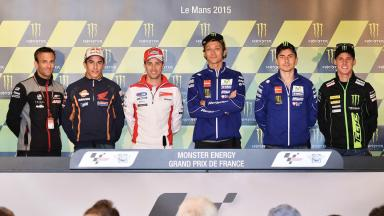 Press conference kicks off #FrenchGP