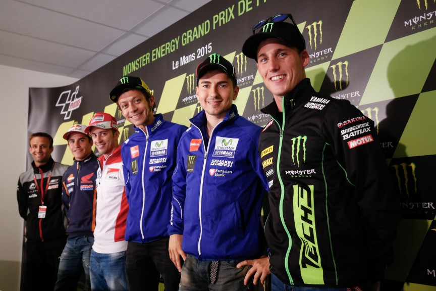 Monster Energy Grand Prix de France Press Conference