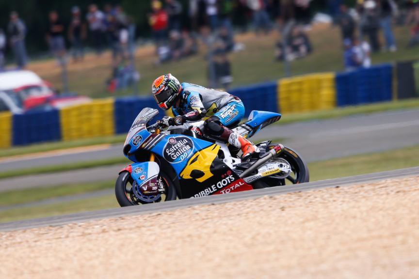 Tito Rabat, EG 0,0 Marc VDS, Le Mans FP2