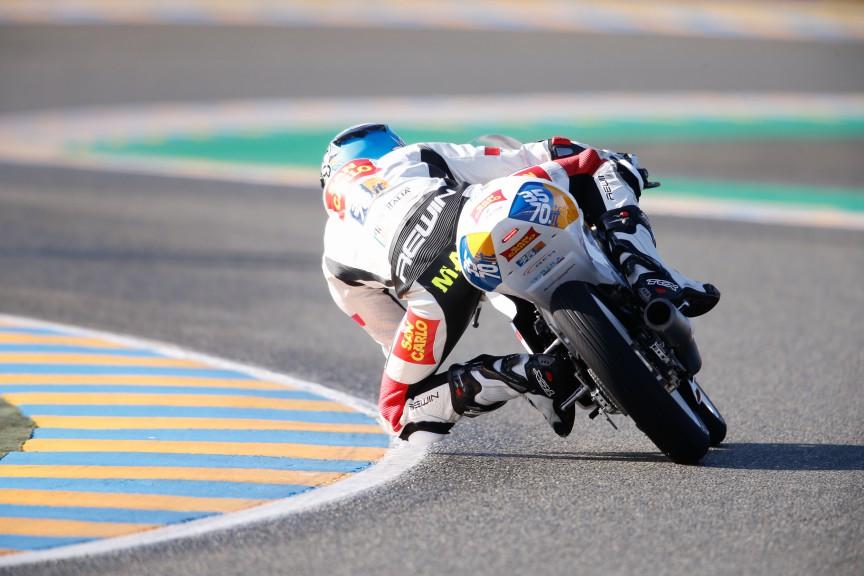 Stefano Manzi, San Carlo Team Italia, Le Mans FP1