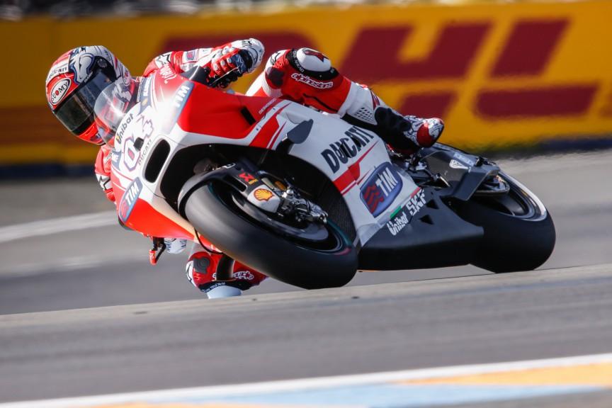 Andrea Dovizioso, Ducati Team, Le Mans FP1