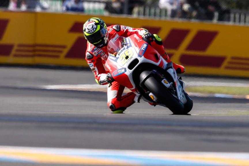Andrea Iannone, Ducati Team, Le Mans FP2