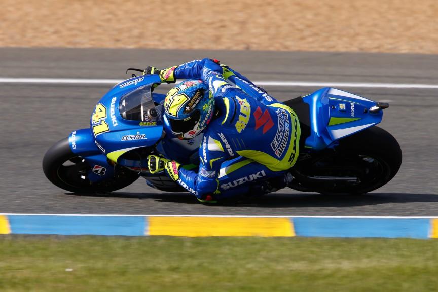 Aleix Espargaro, Team Suzuki Ecstar, Le Mans FP2